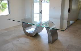 Stainless Steel Dining Table Triumphant Table Stainless Steel Dining Table By Sculptor Bruce