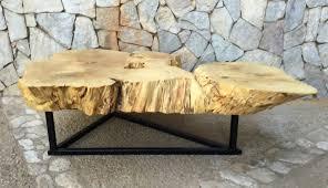 yellow wood coffee table yellow wood slab coffee table umdabu coffee table inspirations