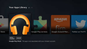 how to install android tv u0027s google play music app on the amazon