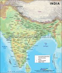 World Map Of India by Large Map Of India India Large Map