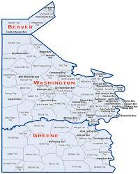 Pennsylvania Cities Map by District Map Senator Camera Bartolotta