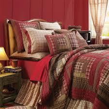 Log Bedroom Furniture Sets Tacoma Log Cabin Primitive Americana Patchwork Quilt Victorian