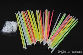 multi color glow stick bracelet necklaces neon led