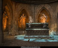halloween background tombs free stock background vampire tomb by artreferencesource on