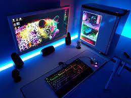 Gaming Desk Setup by 25 Best Gaming Desk Images On Pinterest Gaming Desk Desks And