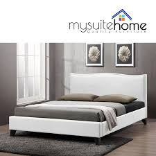 alice french style pu leather double queen size bed frame with