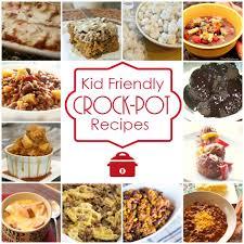 kid friendly crock pot recipes