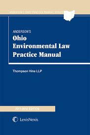 anderson u0027s ohio environmental law practice manual lexisnexis store