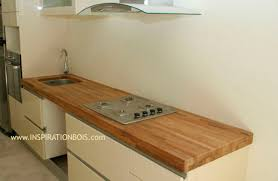 plan travail cuisine bois plan de travail pas cher bois idées décoration intérieure
