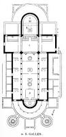 layout of floor plan layout of st gally abby or monastery good starting point for