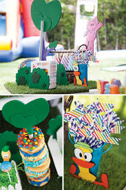 pocoyo in the park backyard birthday bash hostess with the mostess