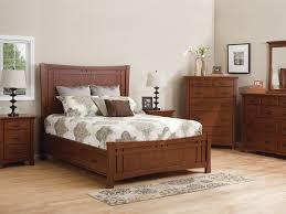 Modern Dark Wood Furniture by Whittier Wood Furniture
