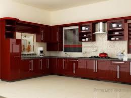 kitchen maroon red kitchen nuance new style kitchen cabinets