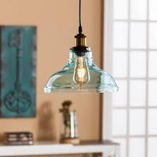 colored glass pendant lights gracelyn colored glass bell pendant lamp soft aqua southern