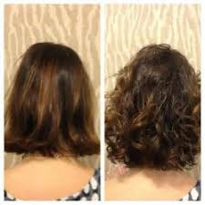 body wave perm hairstyle before and after on short hair image result for beach wave perm short hair diy pinterest