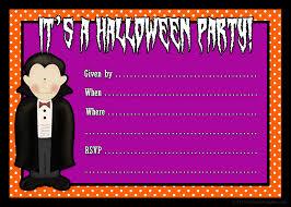 Blank Invitation Cards Halloween Invitation Cards Printable U2013 Festival Collections