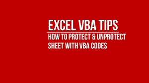 vba how to automatically protect and unprotect sheet using vba