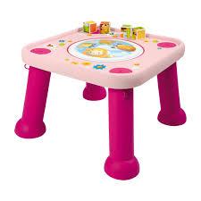 table d activité avec siege rotatif table d activités youpi baby smoby king jouet tapis d