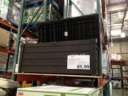 wicker patio storage patio storage box 120 gallon 8999 costco patio storage box