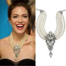 statement necklace pearl images Princess diana pearls statement necklace pearls and rocks jpg