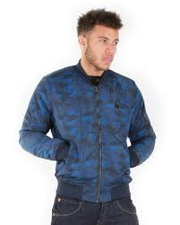 le breve mens ma1 camouflage er in blue mens clothes
