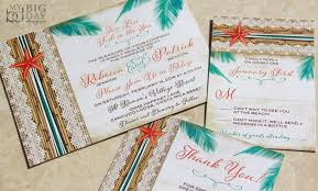 destination wedding invitations new two less fish in the sea tropical destination wedding