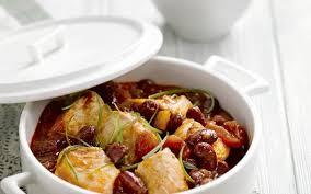 cuisiner haricots rouges mijotée de poulet aux tomates et haricots rouges cuisine et