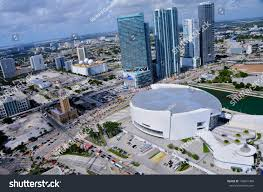 american airlines arena floor plan miami october 25 aerial view american stock photo 139841488