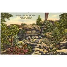 lover u0027s leap in rock city gardens lookout mountain ga