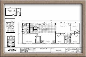 triple wide manufactured homes floor plans karsten big tex 4 bed 2 bath 2052 sqft affordable home for