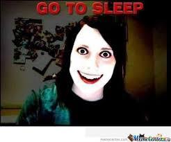 Go To Bed Meme - go to sleep by cosmin10 meme center