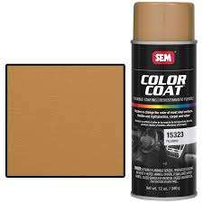 sem 15323 palomino color coat vinyl paint