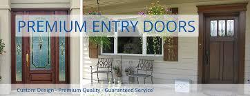 Exterior Door With Window Custom Exterior Doors Front Entry Door Window World Utah