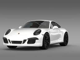 porsche 911 carrera gts porsche 911 carrera gts coupe 991 2015 3d model cgtrader
