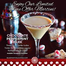 white chocolate peppermint martini holiday drinks recipes tampa bars serving them and more