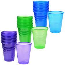 bulk tinted plastic cups 16 oz 16 ct packs at dollartree