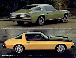 history of the chevrolet camaro 1976 camaro specs colors facts history and performance