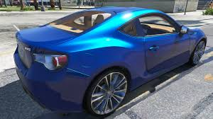 modified subaru brz 2013 subaru brz gta5 mods com