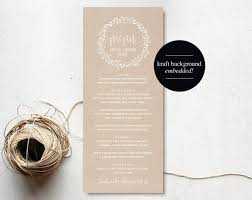 Diy Wedding Menu Cards The 25 Best Menu Pdf Ideas On Pinterest Black Weddings Free
