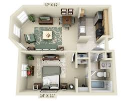 One Bedroom Apartment Plans Floor Plans And Pricing For 2000 Post Apartments San Francisco Ca