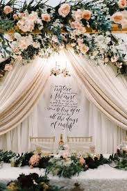 wedding vow backdrop calligraphy wedding vow fabric backdrop for ceremony cake