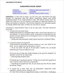 argumentative essays u2013 9 free samples examples format download