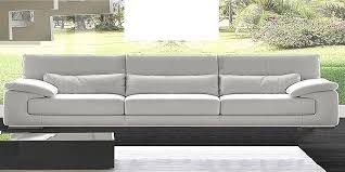 Italian Leather Sofa Dolby By Calia Maddalena - 4 seat leather sofa