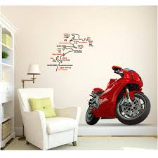 Elements Home Decor Wall Ideas Elements Metal Motorcycle Wall Decor Vintage
