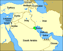 kuwait on a map the unreached peoples prayer profiles