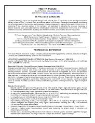 project manager resume format resume examples qualifications