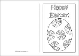 Easter Card Template Ks2 easter card colouring templates sb4368 sparklebox