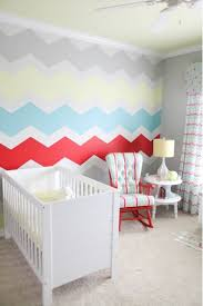 Wall Paper For Home Chevron Pattern  Gorgeous Hand Painted - Wall paint for kids room