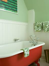 bathroom color and paint ideas pictures tips from hgtv red claw