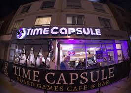 play table board game console time capsule board games cafe bar